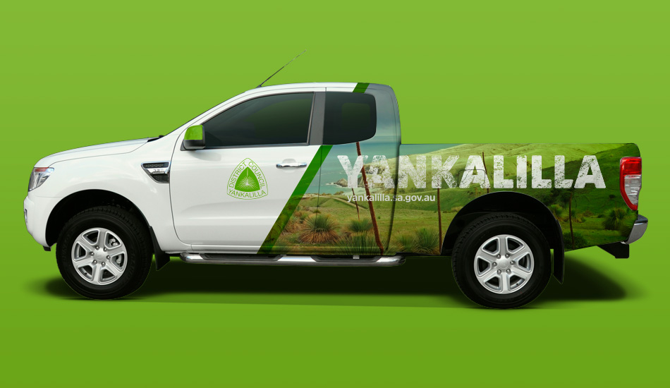 Yankalilla Car Wrap, designed by Algo Mas