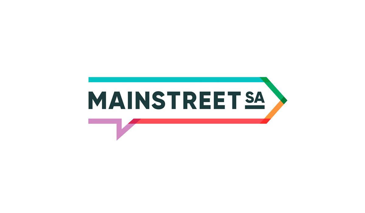 Mainstreet logo designed by Algo Mas