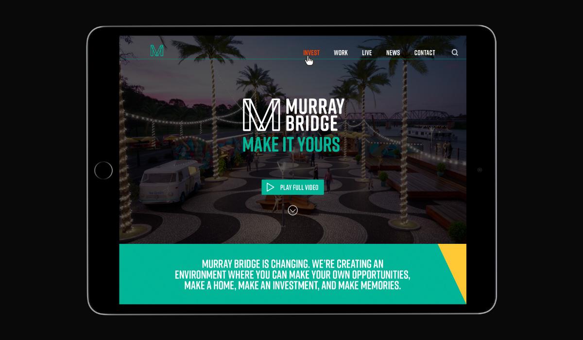 Murray Bridge Make it yours website by Algo Más