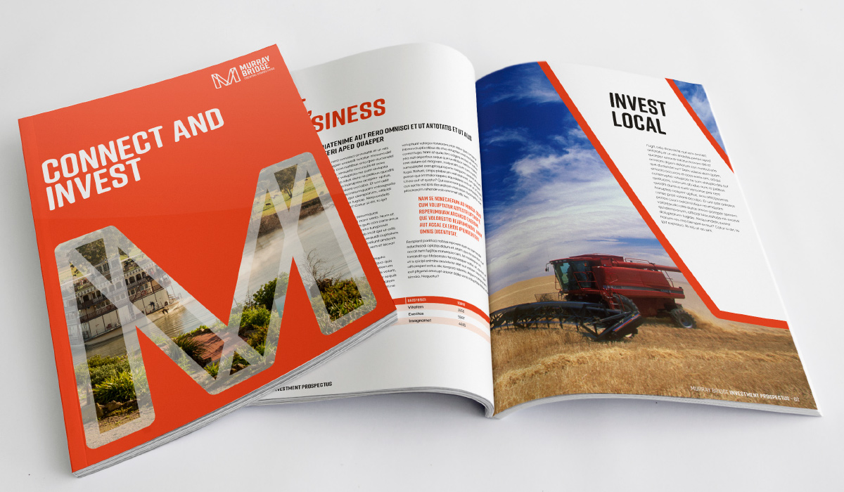Murray Bridge Publication Design