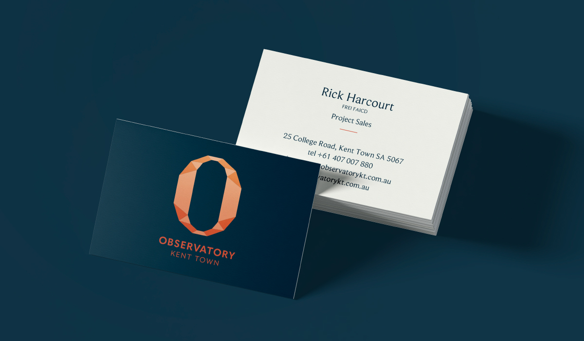 Observatory-Kent-Town-Business-Card-Design