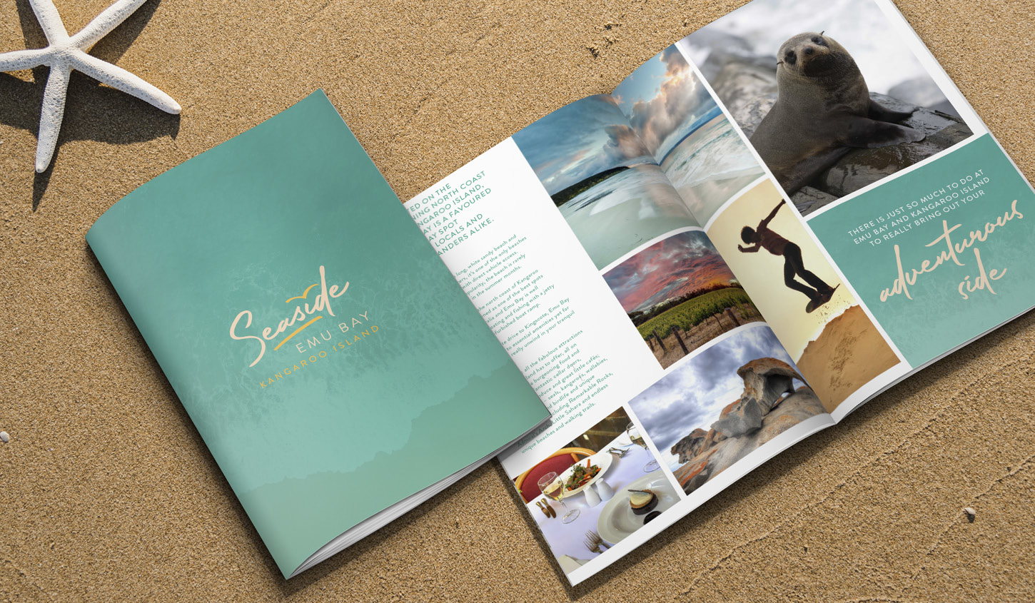 Seaside KI Brochure designed by Algo Mas