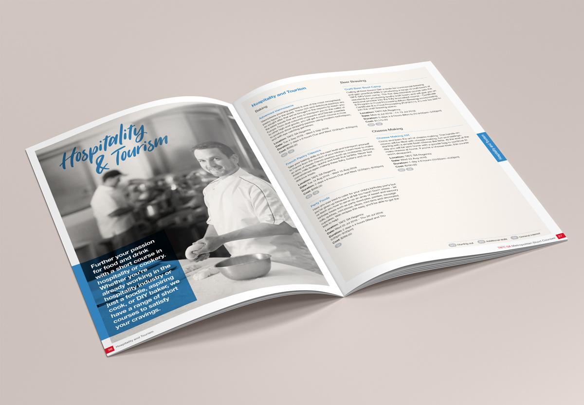TAFE SA Brochure Designed by Algo Mas