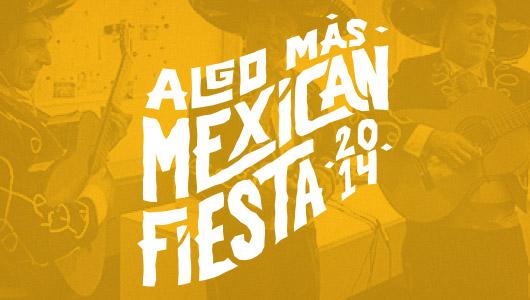 Algo Mas Mexican Fiesta logo