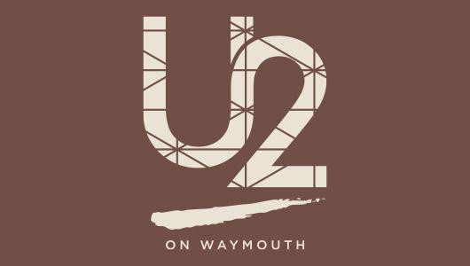 U2 On Waymouth logo design by Algo Mas