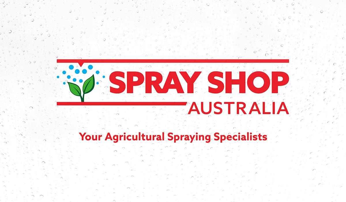 Sprayshop Australia logo created by Algo Mas