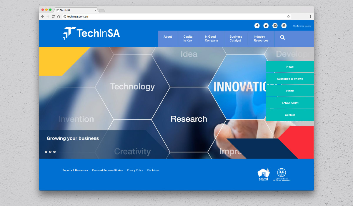 TechInSA-Website