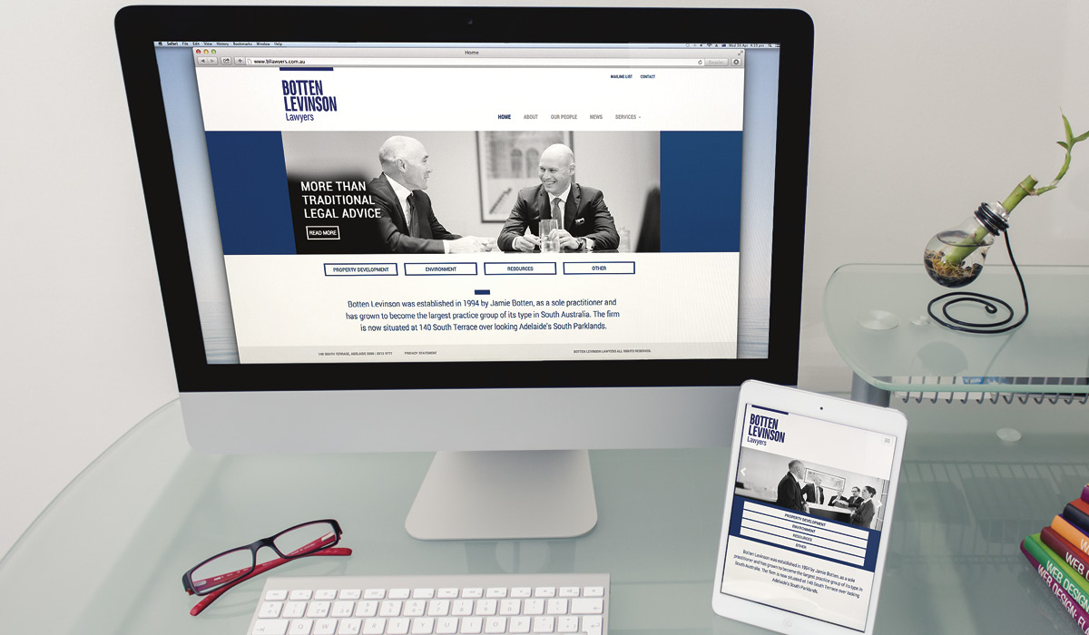 website-design-botten-levinson-lawyers