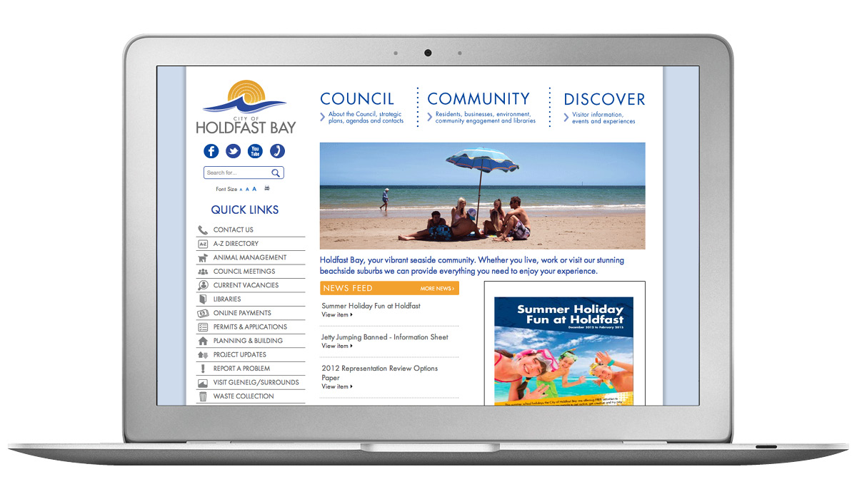 website-design-city-of-holdfast-bay